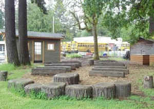 Lake Grove Outdoor Classroon Seating