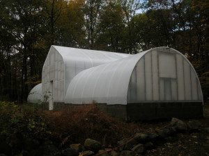 Greenhouse in New Jersey with Solexx paneling
