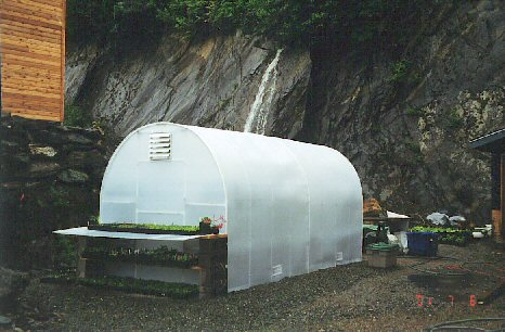 16 ft Oasis greenhouse in Alaska