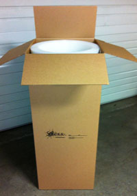 Solexx paneling shipping package